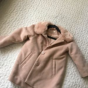 Girls H&M pink coat